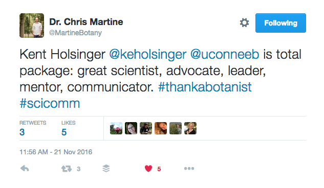 Tweet from @MartineBotany