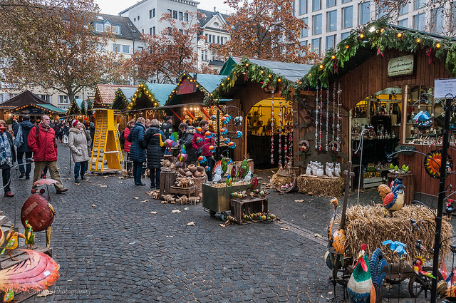 Christmas market in Bonn