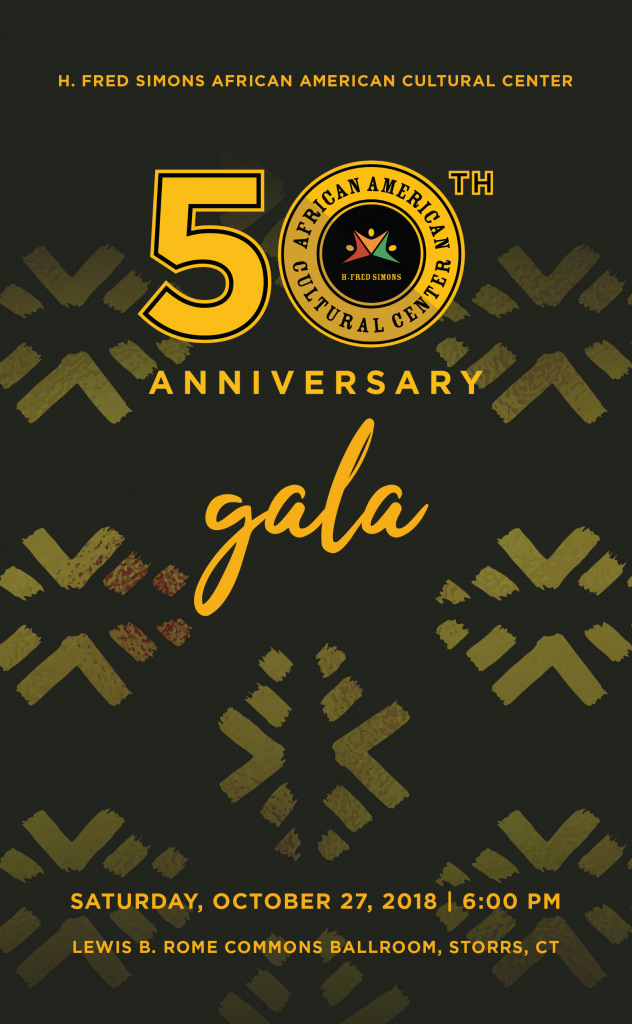 Cover of the program for the AACC 50th Anniversary Gala